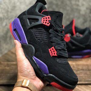 Nike Air Jordan 4 black cats